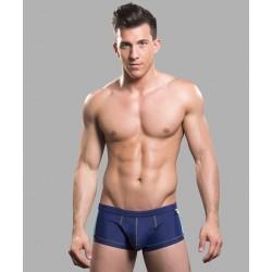 ANDREW CHRISTIAN plavky boxerkové modré Almost Naked Triathlon Trunk