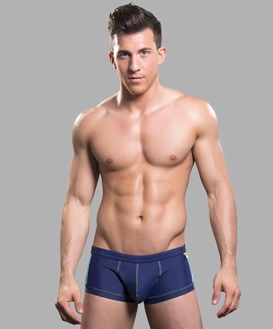 ANDREW CHRISTIAN plavky boxerkové modré Almost Naked Triathlon Trunk bf5d8dd199