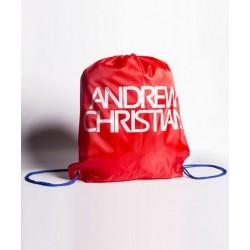 ANDREW CHRISTIAN pánský batoh červený přes rameno  8242