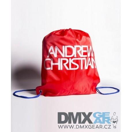 ANDREW CHRISTIAN pánský batoh červený přes rameno 8242 Velikost univerzální