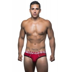 ANDREW CHRISTIAN slipy červené CoolFlex Brief 90173