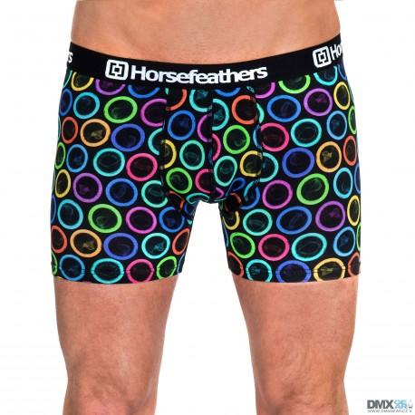 HORSEFEATHERS pánské boxerky Sidney Boxer Shorts Condoms