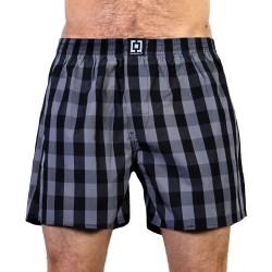 HORSEFEATHERS pánské šedo-černé kostičkované trenýrky Sin Boxer Shorts