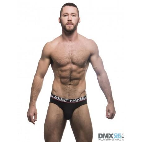 ANDREW CHRISTIAN slipy černé Almost Naked Tagless Premium Brief 90263