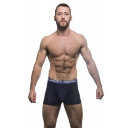ANDREW CHRISTIAN boxerky tmavě modré Almost Naked Tagless Premium Boxer 90264