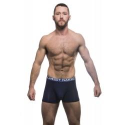 ANDREW CHRISTIAN boxerky tmavě modré Almost Naked Tagless Premium Boxer 90264