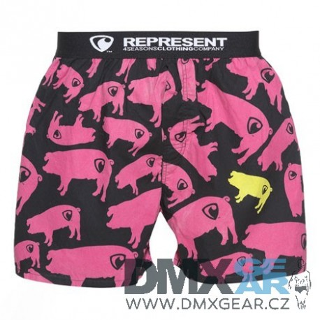 REPRESENT pánské bavlněné trenýrky Exclusive Mike Pig Farm