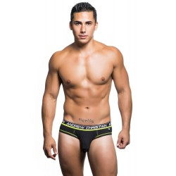 ANDREW CHRISTIAN slipy černé Almost Naked Cotton Brief 90195
