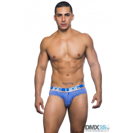 ANDREW CHRISTIAN slipy modré Vibe Sport & Workout Tagless Brief 90199