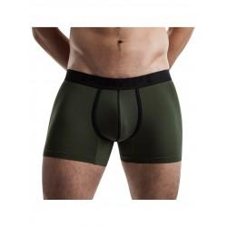 PUMP! pánské zelené khaki boxerky CoolDown Boxer 11066