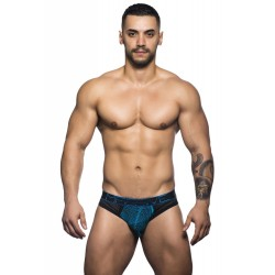 ANDREW CHRISTIAN jocksy černé Massive Sector Brief Jock 90325
