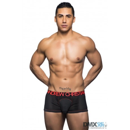 ANDREW CHRISTIAN boxerky šedé Reaction Boxer 90331