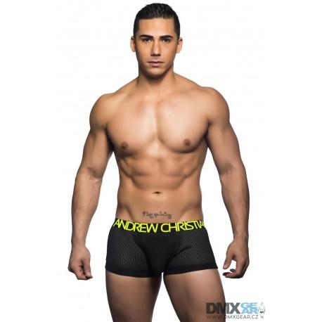 ANDREW CHRISTIAN boxerky černé Reaction Boxer 90331
