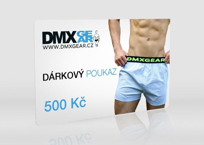 DMXGEAR dárková karta 500 Kč