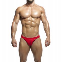 ALEXANDER COBB jockstrapy červené s červenou gumou Hot