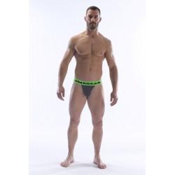 DMXGEAR pánské šedé sportovní slipy Anatomically Fit Sport Brief