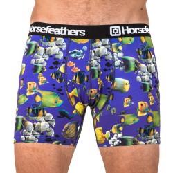 HORSEFEATHERS pánské fialové boxerky Sidney Boxer Shorts Aquarium