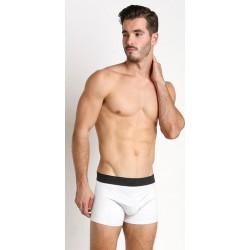 PINK HERO bílé boxerky Pure White