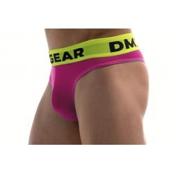 DMXGEAR pánská luxusní růžová tanga Anatomically Fit Thong
