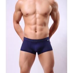 BRAVE PERSON boxerky tmavě modré děrkované Mesh Boxer