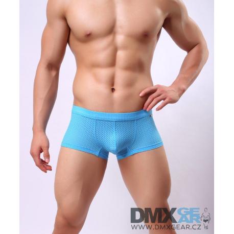 BRAVE PERSON boxerky světle modré děrkované Mesh Net