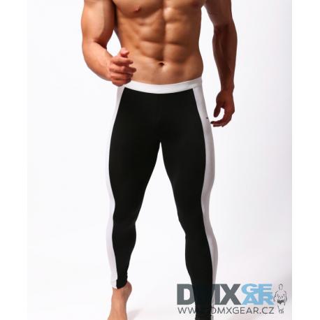 BRAVE PERSON elasťáky dlouhé černé Yoga Gymnastics
