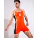 BRAVE PERSON sportovní oranžové body Jumpsuit