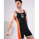 BRAVE PERSON sportovní černé body Jumpsuit