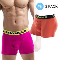 DMXGEAR 2 Pack Luxusních pánských boxerek Anatomically Fit