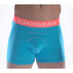 DMXGEAR pánské luxusní tyrkysové boxerky Anatomically Fit Boxer
