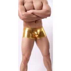 BRAVE PERSON zlaté lesklé boxerky Tovovok