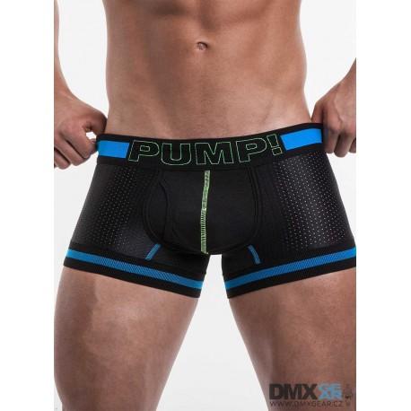 PUMP! pánské černé boxerky TouchDown Sonic