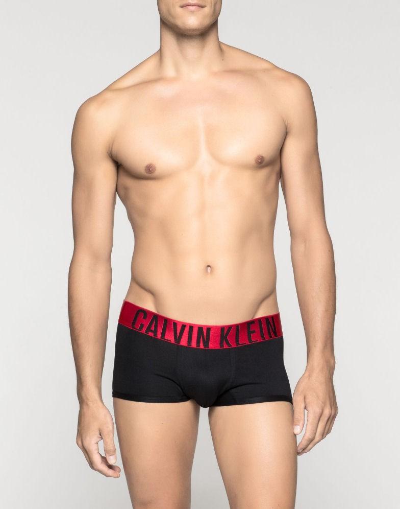 e42a615b7a CALVIN KLEIN černé boxerky Power Red Trunk U8316A s kratší nohavičkou