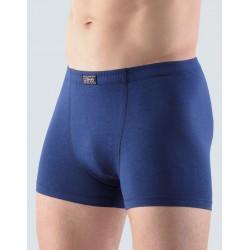 GINO pánské tmavě modré bavlněné boxerky 73032