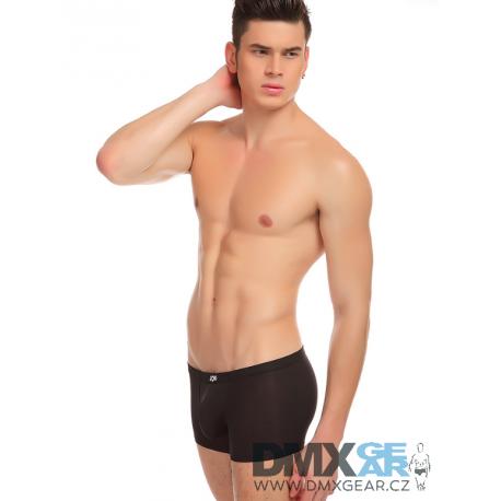 JQK černé sexy pánské boxerky Smooth