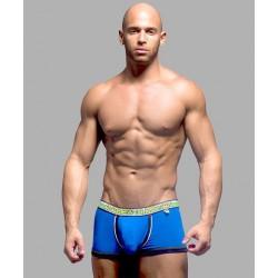 ANDREW CHRISTIAN pánské modré boxerky Almost Naked Boxer 9885