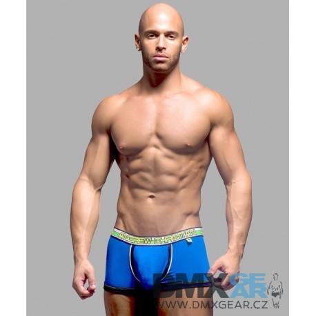 ANDREW CHRISTIAN pánské modré boxerky Almost Naked Boxer