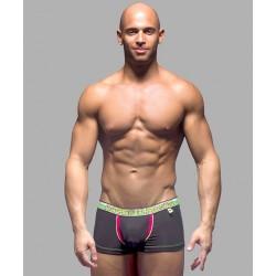 ANDREW CHRISTIAN pánské černé boxerky Almost Naked Boxer 9885