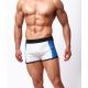 BRAVE PERSON pánské bílo-černé boxerky/pánské šortky sportovní Sport