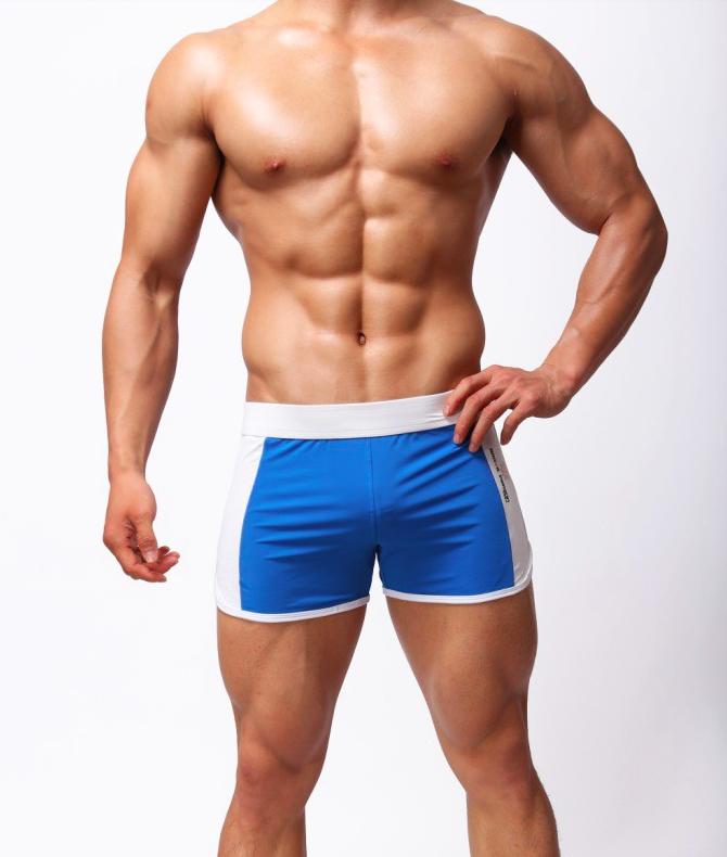 BRAVE PERSON pánské modré boxerky pánské šortky sportovní Sport 981f33752f