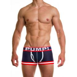 PUMP! pánské modré boxerky Big League Boxer