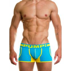 PUMP! pánské tyrkysové boxerky Spring Fling Jogger