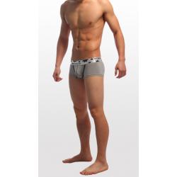 SEOBEAN světle šedé pánské boxerky Antracit