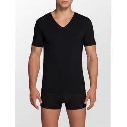 CALVIN KLEIN černé pánské tričko CK Black NB1076A