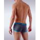 GARÇON MODEL šedé pánské boxerky Blue Trunk