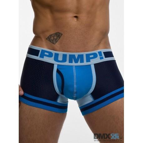 PUMP! pánské modré boxerky TouchDown True Blue Boxer 11056