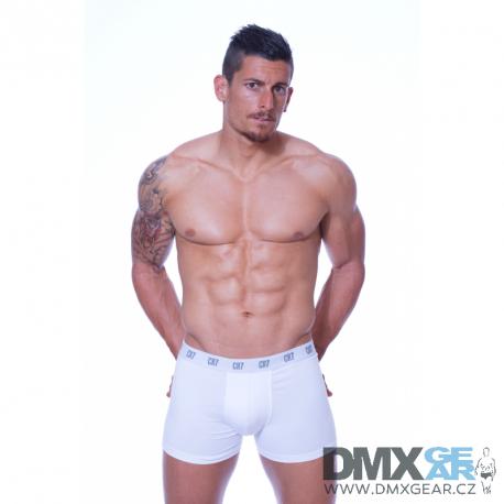 CR7 CRISTIANO RONALDO bílé pánské boxerky 8100-49 Velikost L