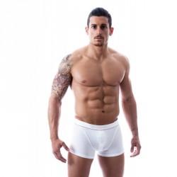 CR7 CRISTIANO RONALDO bílé pánské boxerky s knoflíčkem 8000-47
