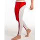 MIBOER bílo-červené pánské dlouhé kalhoty Winter Shape
