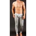 MIBOER šedé pánské dlouhé kalhoty Body